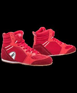 Обувь для бокса PS006 низкая, красный - фото 48832