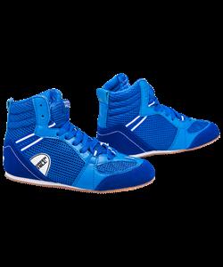Обувь для бокса PS006 низкая, синий - фото 48857