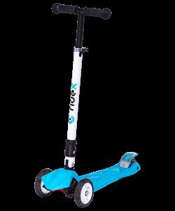 Самокат 3-колесный Smart 3D, 120/80 мм, синий - фото 48868