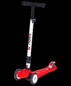Самокат 3-колесный Smart 3D, 120/80 мм, красный - фото 48876