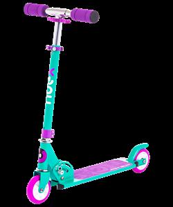 Самокат 2-колесный Sonic 100 мм, фиолетовый - фото 48940