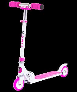 Самокат 2-колесный Sonic, 100 мм, розовый - фото 48954
