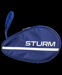 Чехол для ракетки для настольного тенниса CS-01, для одной ракетки, синий - фото 50481