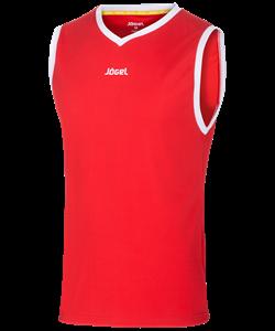 Майка баскетбольная JBT-1001-021, красный/белый - фото 50647