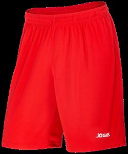 Шорты баскетбольные JBS-1120-021, красный/белый, детские - фото 52581