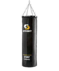 Мешок боксерский E254, тент, 35 кг, черный - фото 52966