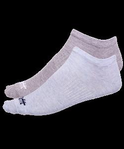 Носки низкие SW-205, голубой меланж/светло-серый меланж, 2 пары - фото 53332