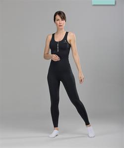 Женский спортивный комбинезон Balance FA-WO-0101, черный - фото 53731