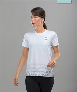 Женская спортивная футболка Balance FA-WT-0105, белый - фото 54275