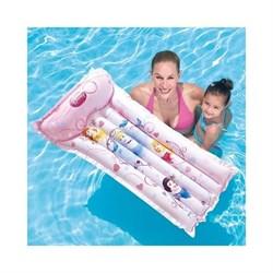 Матрас для плавания надувной Bestway 91045 Принцесса, 119*61см - фото 76279