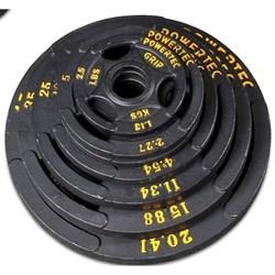 Набор олимпийских дисков Powertec OP-255B d-51 - фото 76703