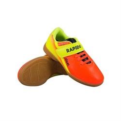 Бутсы зальные Jogel Rapido Kids JSH4001-K (Оранжевый, р.28) - фото 81923