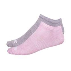 Носки низкие Starfit SW-205 р.35-38 розовый меланж/светло-серый меланж - фото 87200