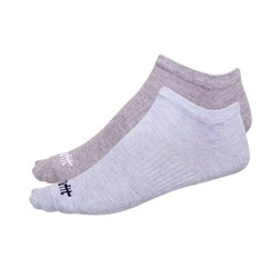 Носки низкие Starfit SW-205 р.39-42 2 пары голубой меланж/светло-серый меланж - фото 87214