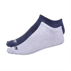 Носки низкие Starfit SW-205 р.39-42 2 пары голубой меланж/синий меланж - фото 87228