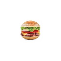"Надувной матрас Intex 58780EU ""hamburger Island"" 145х142см - фото 87807"