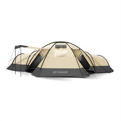 Палатка Trimm Family BUNGALOW II, песочный 8+3 - фото 94256