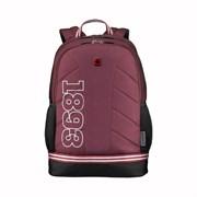 "Рюкзак WENGER Collegiate Quadma 16"", красный, 100% полиэстер, 33х17х43 см, 22 л"