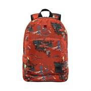 """Рюкзак WENGER Crango 16'', кирпичный с рисунком """"Альпы"""", полиэстер 600D, 33x22x46 см, 27 л"""