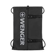 Рюкзак-мешок на завязках WENGER XC Fyrst, черный, полиэстер, 35x1x48 см, 12 л