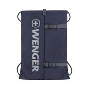 Рюкзак-мешок на завязках WENGER XC Fyrst, синий, полиэстер, 35x1x48 см, 12 л