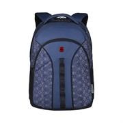 Рюкзак WENGER Sun 16'', синий со светоотражающим принтом, полиэстер, 35x27x47 см, 27 л