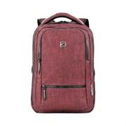 Рюкзак WENGER 14'', бордовый, полиэстер, 26 x 19 x 41 см, 14 л