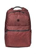 Рюкзак WENGER 14'', бордовый, полиэстер, 31 x 24 x 42 см, 22 л