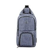 Рюкзак WENGER с одним плечевым ремнем, синий, полиэстер, 19 х 12 х 33 см, 8 л