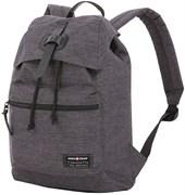 Рюкзак SWISSGEAR 13'', cерый, ткань Grey Heather/ полиэстер 600D PU , 29х13х40 см, 15 л