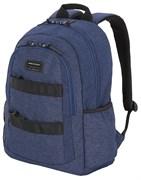 """Рюкзак SWISSGEAR 15,6"""", синий, heather, 35,5 x 17 x 47 см, 27 л"""
