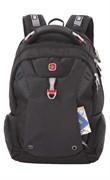 Рюкзак SWISSGEAR, 15'', черный, полиэстер 900D, 32х24х46, 34 л