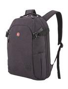 Рюкзак SWISSGEAR 15'', серый, ткань Grey Heather, 31 x 20 x 47 см, 29 л