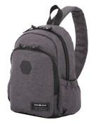 Рюкзак SWISSGEAR 13'', cерый, ткань Grey Heather/ полиэстер 600D PU , 25х14х35 см, 12 л