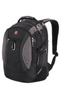 Рюкзак SWISSGEAR, 15'' , чёрный/серый, полиэстер 900D, 35х23х48 см, 39 л