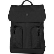Рюкзак VICTORINOX Altmont Classic Flapover Laptop 15'', чёрный, полиэфирная ткань, 28x14x43 см, 13 л