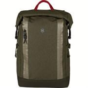 Рюкзак VICTORINOX Altmont Classic Rolltop Laptop 15'', зелёный, полиэфирная ткань, 29x17x47 см, 18 л