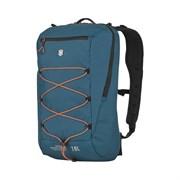 Рюкзак VICTORINOX Altmont Active L.W. Compact Backpack, бирюзовый, 100% нейлон, 28x17x44 см, 18 л