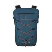 Рюкзак VICTORINOX Altmont Active L.W. Rolltop Backpack, бирюзовый, 100% нейлон, 30x19x46 см, 20 л