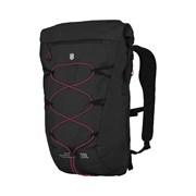 Рюкзак VICTORINOX Altmont Active L.W. Rolltop Backpack, чёрный, 100% нейлон, 30x19x46 см, 20 л