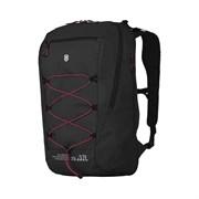 Рюкзак VICTORINOX Altmont Active L.W. Expandable Backpack, чёрный, 100% нейлон, 33x21x49 см, 25 л