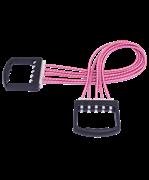 Эспандер плечевой 5 струн резиновый подрывной