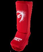 Защита голень-стопа Green Hill красный SIC-6131