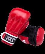 Перчатки для рукопашного боя PG-2047, к/з, красный