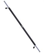 Гриф для штанги прямой STAR FIT BB-104, диаметр 25 мм. длина 120 см, неопреновое покрытие