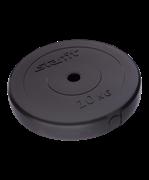 Диск пластиковый STAR FIT BB-203  d=26 мм, черный