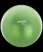 Мяч гимнастический GB-101 85 см, антивзрыв, зеленый