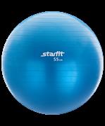 Мяч гимнастический STAR FIT GB-102 с насосом, синий
