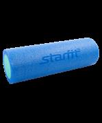 Ролик для йоги и пилатеса STAR FIT FA-501, 15 х 45 см. синий/голубой