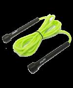 Скакалка STAR FIT RP-101 ПВХ с плаcтиковой ручкой, зеленая, длина 3 м.
